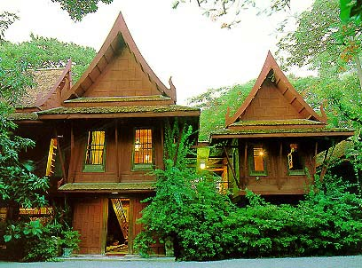 Jim thompson house bangkok thai silk museum for Thai classic house
