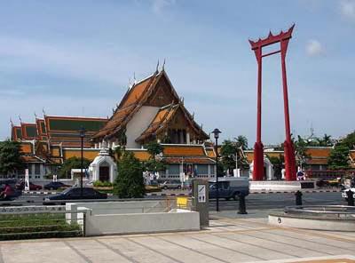 Wat Suthat & The Giant Swing Bangkok